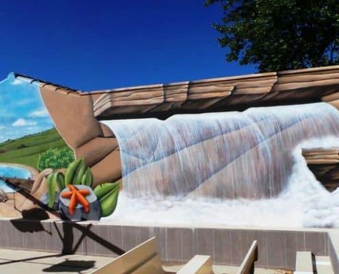 Nos r alisations yep production for Deco bord de piscine