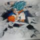 decoration murale interieure dragon ball a Montpellier