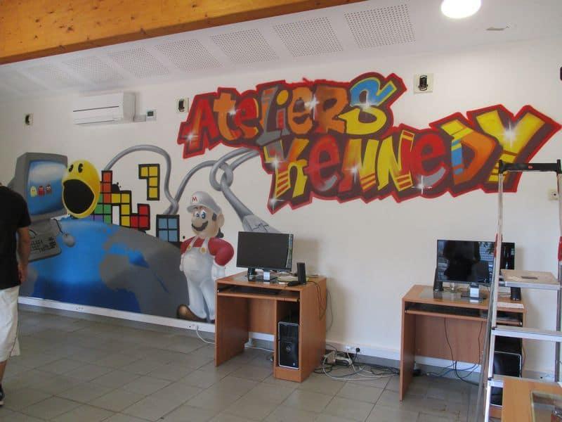 atelier pedagogique fresque ESAT 5