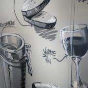 Mur street art Montpellier