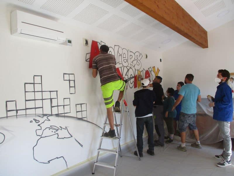 atelier pedagogique fresque ESAT 1