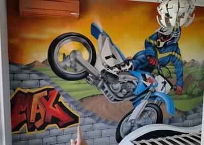 decoration-chambre-enfant-peinture-murale-motocross-compressor-compressor
